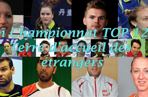 Le championnat TOP 12 : terre d'accueil des étrangers