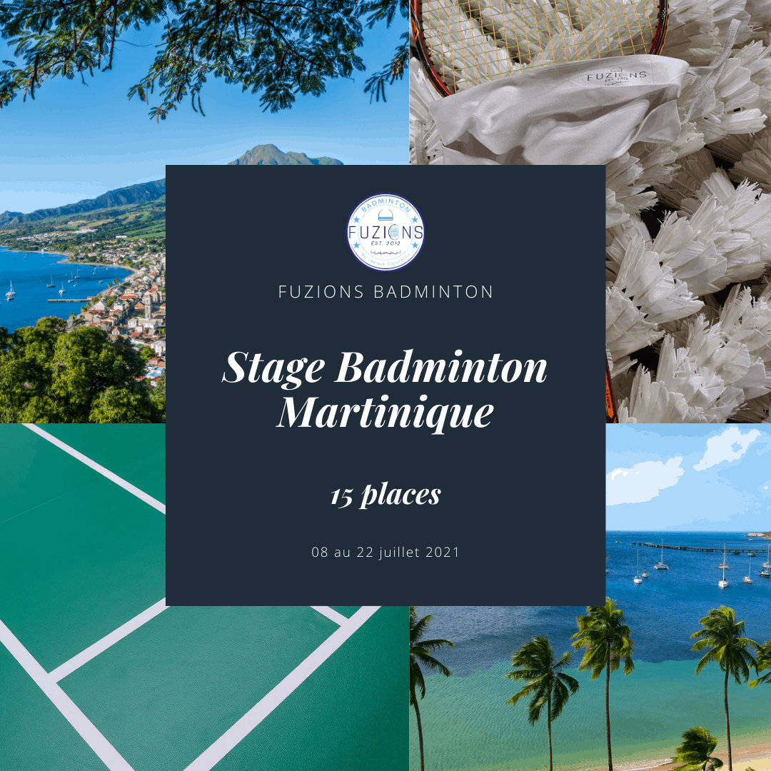 Stage badminton martinique