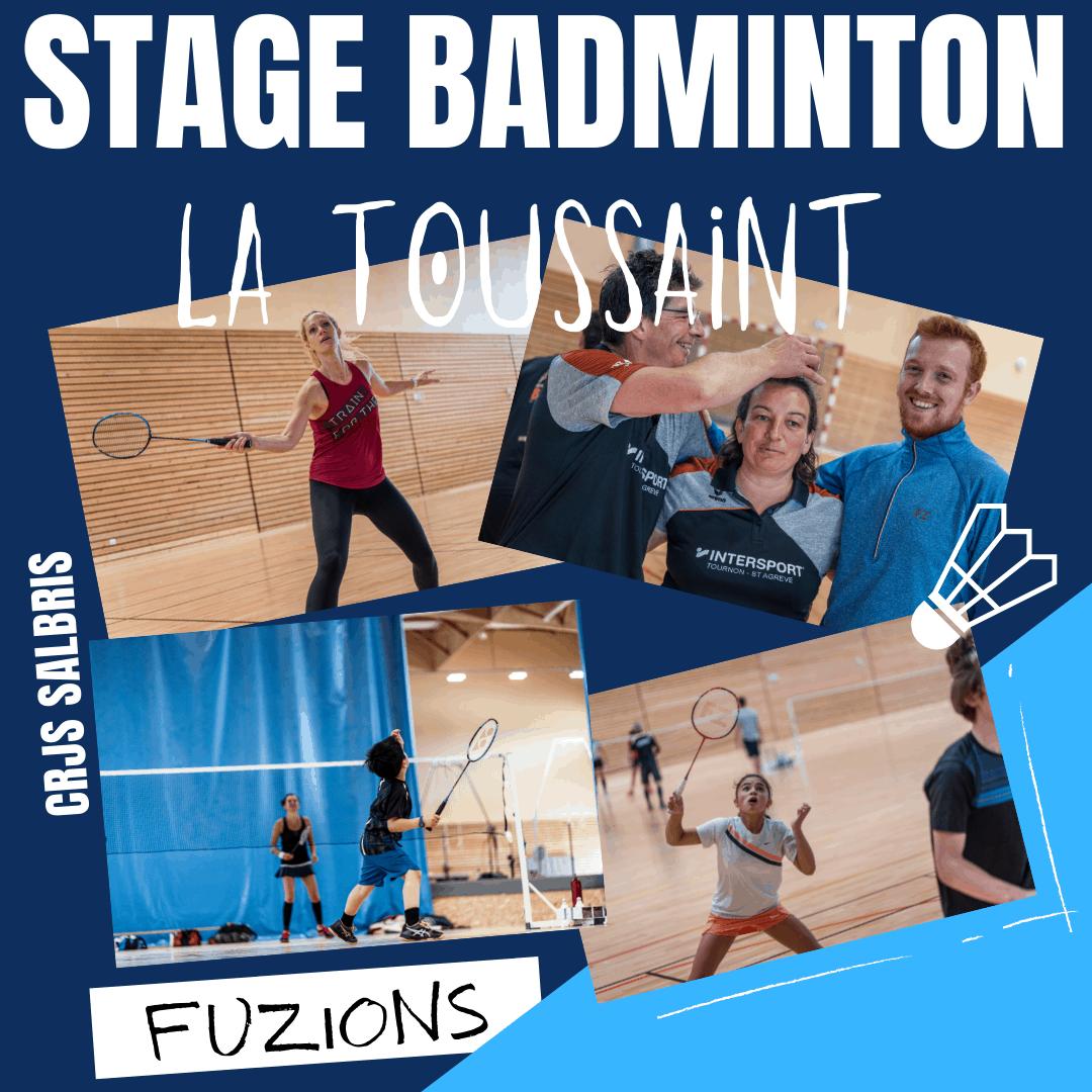Stage badminton la toussaint